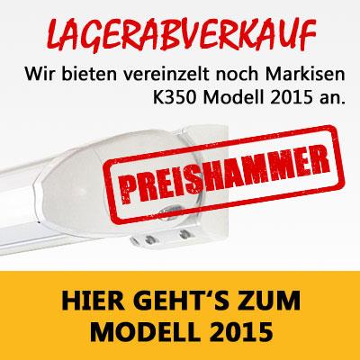 Vollkassettenmarkise K350 Online Bestellen