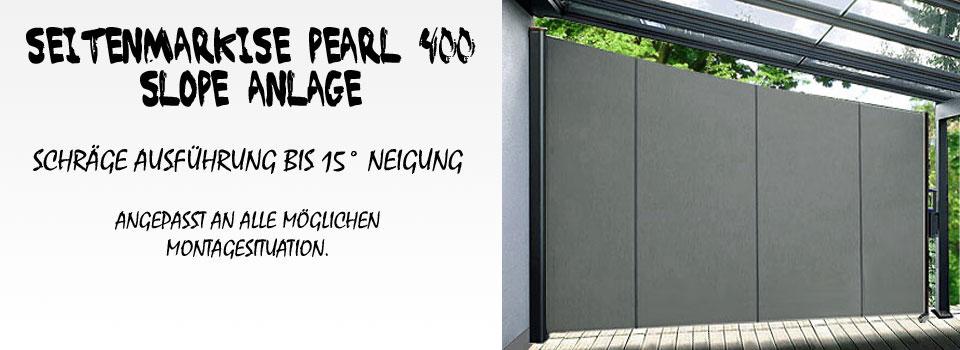 seitenmarkise pearl 400 nach ma seitenmarkisen bis 4. Black Bedroom Furniture Sets. Home Design Ideas