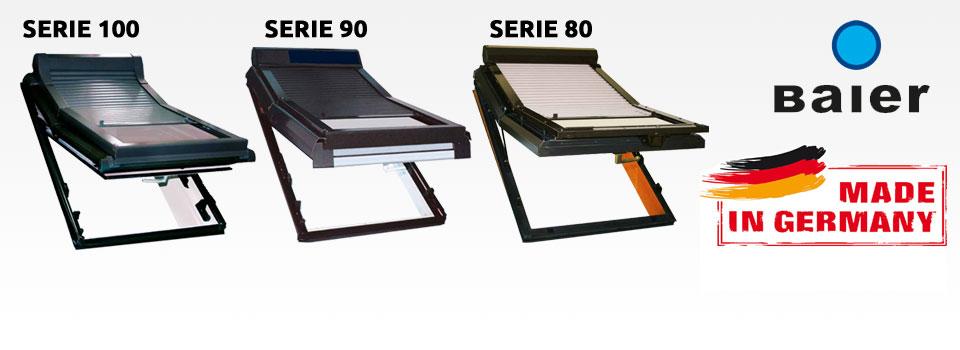 velux dachfenster rollladen roto rolladen von baier online bestellen. Black Bedroom Furniture Sets. Home Design Ideas