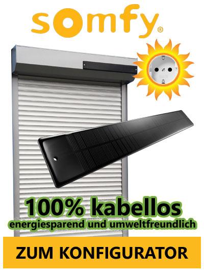 Solar Rolladen Somfy Rolladen Mit Solar Antrieb Online Kaufen