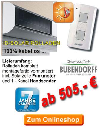 rolladen mit solar antrieb bubendorff mono id2 solar rolladen und premium vorbaurollladen mit. Black Bedroom Furniture Sets. Home Design Ideas