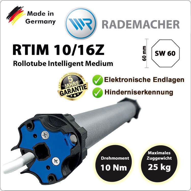 Rademacher RolloTube intelligent RTIM 10/16Z- 230V / 50HZ