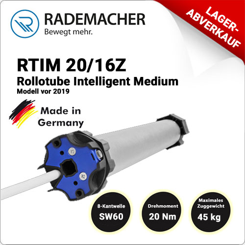 Rademacher RolloTube intelligent RTIM 20/16Z- Model vor 2019