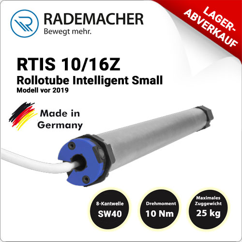 Rademacher Rollotube intelligent RTIS 10/16Z- Model vor 2019