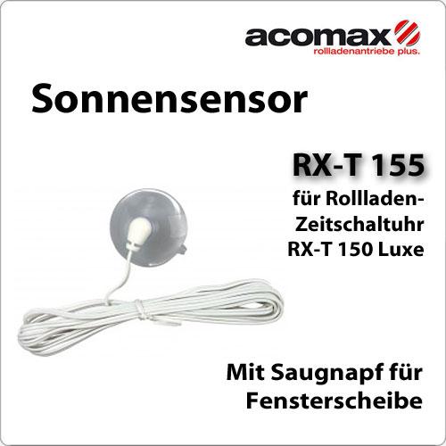 sonnensensor rx t 155 f r zeitschaltuhr rx t150 luxe f r. Black Bedroom Furniture Sets. Home Design Ideas