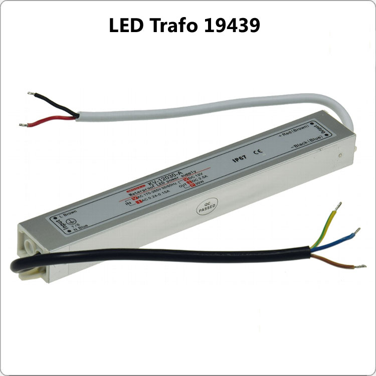 LED Trafo IP 67 1-30 Watt