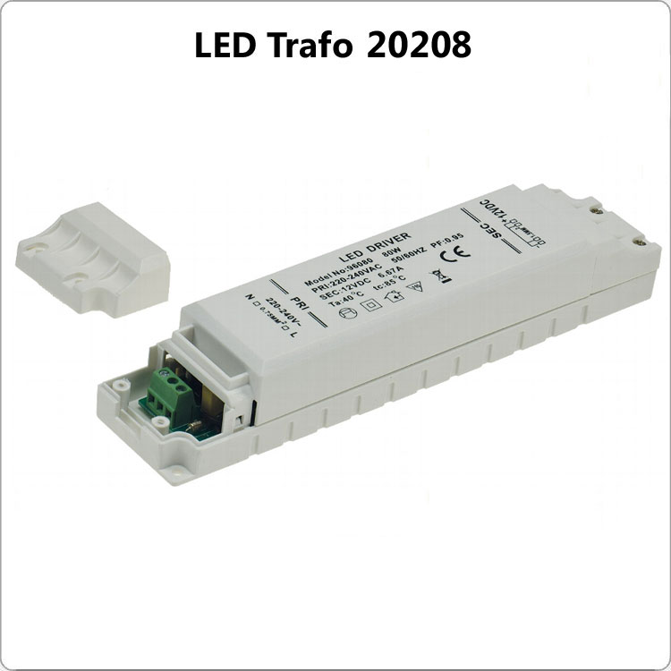 LED Trafo IP 67 1-80 Watt Bild 1