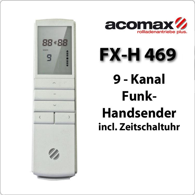 FX-H 461 Handsender 1-Kanal Astro Time 433 MHz