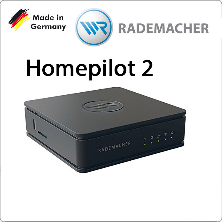 RADEMACHER Homepilot 2 - Hausautomatik und Multimedia